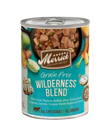 Merrick Classic Grain-Free Wilderness Blend Canned Dog Food 12.7oz