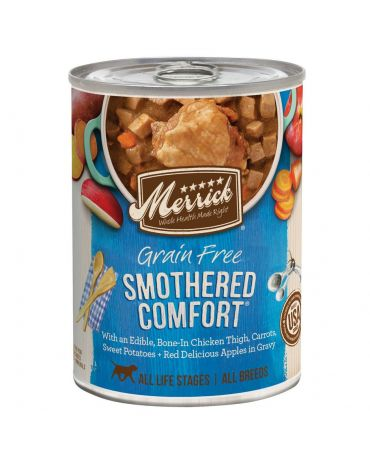 Merrick Classic Grain-Free Smothered Comfort Canned Dog Food 12.7oz