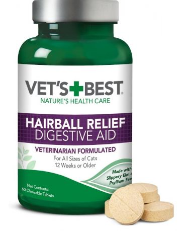 Veterinarian's Best Hairball Relief Digestive Aid 60 Count