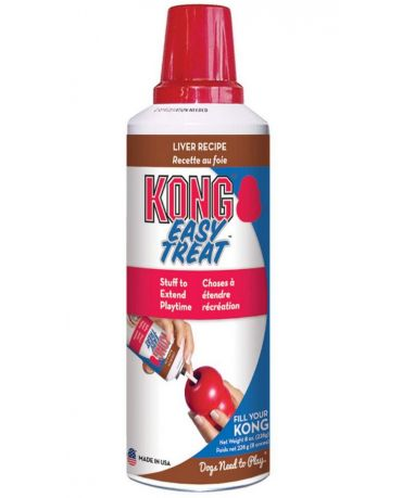 KONG Easy Treat Squeezable Liver Recipe Dog Treat 8oz