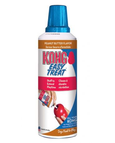 KONG Easy Treat Squeezable Peanut Butter Recipe Dog Treat 8oz