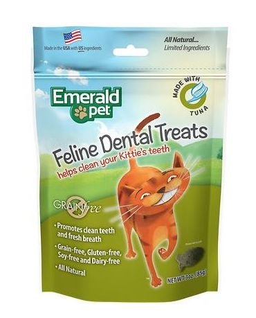 Emerald Pet Feline Dental Treat Tuna 3oz