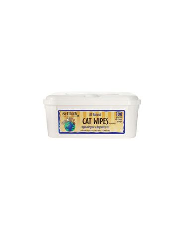 Earthbath Cat Wipes 100 Pack