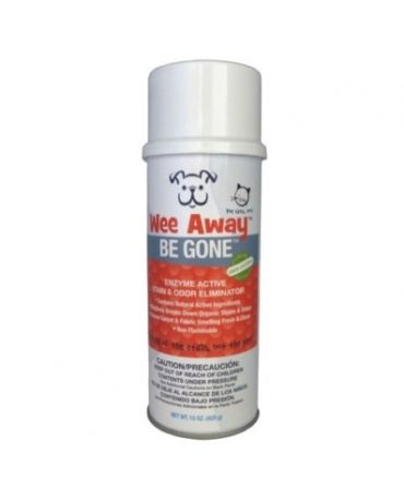 Wee Away BE GONE Ultimate Pet Stain & Odor Remover 15oz Can
