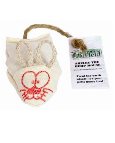 From the Field Shelby the Hemp Mouse Cat Toy