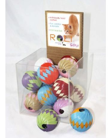 GOLi Design Roli Treat Ball Cat Toy