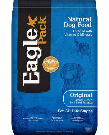 Eagle Pack Original Chicken Meal & Pork Meal Formula Dry Dog Food 30lb