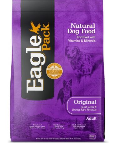 Eagle Pack Original Lamb Meal & Brown Rice Formula Dry Dog Food 30lb