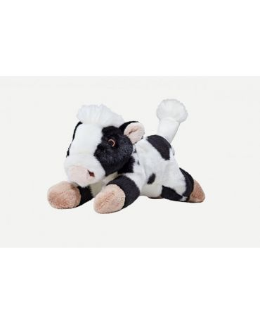 Fluff & Tuff Marge Cow Plush Dog Toy Medium