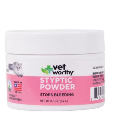 Vet Worthy Pet Styptic Powder 0.5oz