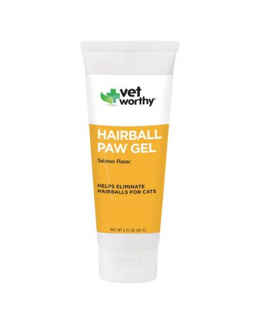 Vet Worthy Hairball Paw Gel for Cats 3oz
