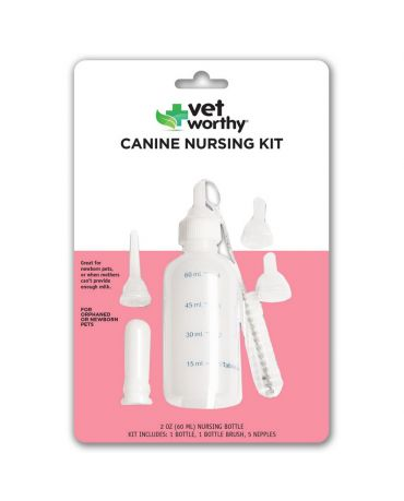 Vet Worthy Pet Bottle Nursing Kit