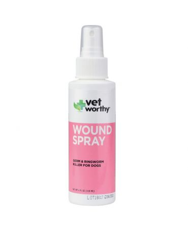 Vet Worthy Wound Spray for Dogs 4oz