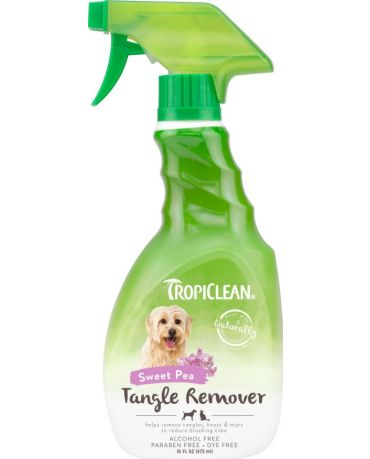 TropiClean Sweet Pea Pet Tangle Remover 16oz Spray