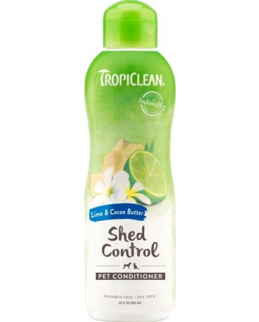 TropiClean Lime & Cocoa Butter Shed Control Pet Conditioner 20oz