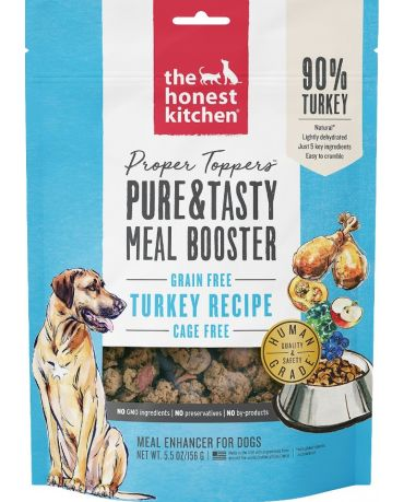The Honest Kitchen Proper Toppers Grain-Free Turkey Recipe Meal Booster 5.5oz