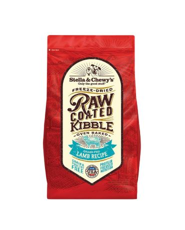 Stella & Chewy's Grain-Free Raw Coated Lamb Recipe Dry Dog Food 3.5lb