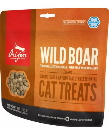 ORIJEN Freeze-Dried Wild-Roaming Boar Cat Treats 1.25oz