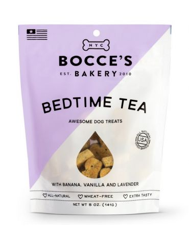 Bocce's Bakery All-Natural Bedtime Tea Dog Biscuits 5oz