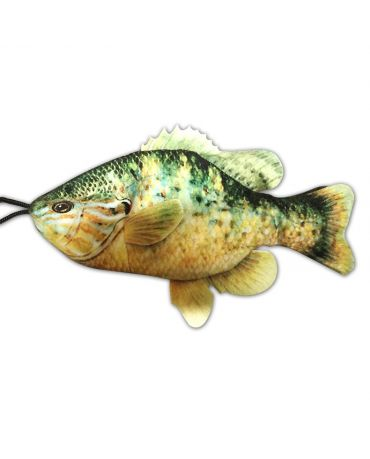 SteelDog Freshwater Fish Sunfish Flat Rope & Plush Dog Toy