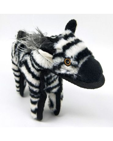SteelDog Ruffians Zebra Plush Dog Toy