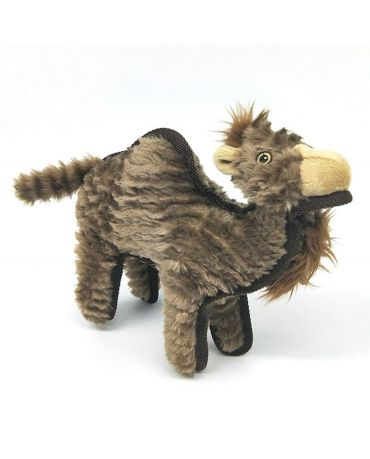 SteelDog Ruffians Camel Plush Dog Toy