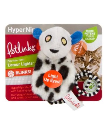 Petlinks HyperNip Lemur Lights Cat Toy
