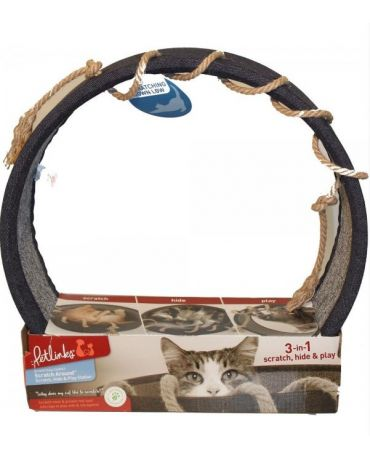 Petlinks Scratch Around Cat Scratcher & Nook Cat Toy