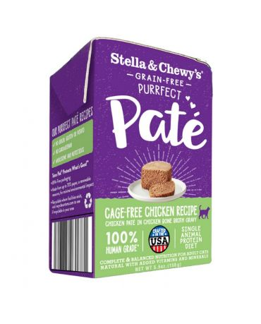 Stella & Chewy's Purrfect Pate Cage-Free Chicken Recipe Wet Cat Food 5.5oz