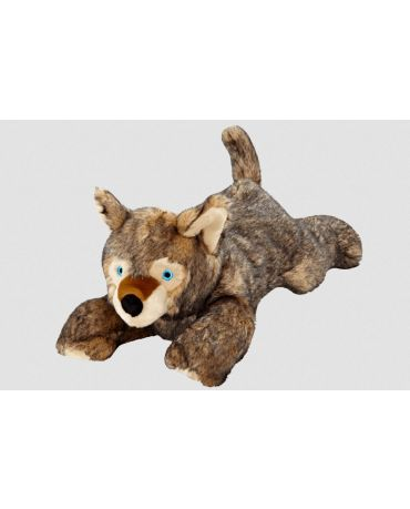 Fluff & Tuff Lobo Wolf Pup Plush Dog Toy Extra Large