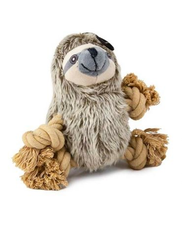 SteelDog Roper Sloth Rope & Plush Dog Toy