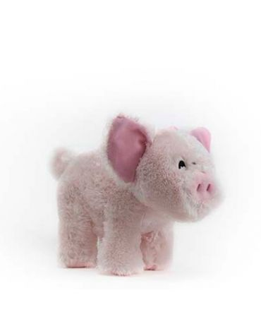 SteelDog Barnyard Ballers Pig Plush Dog Toy