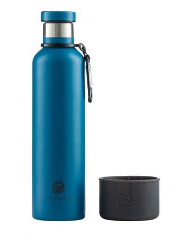 Highwave Dog & Me Water Flask Blue Powder Coat 25oz