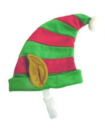 Plush Puppies Holiday Pet Elf Hat Medium