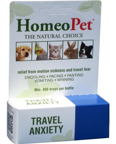 HomeoPet Travel Anxiety Aid for Dogs & Cats 15ml