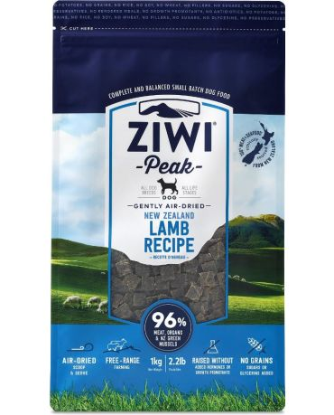 ZIWI Peak Air-Dried New Zealand Lamb Dog Food 2.2lb