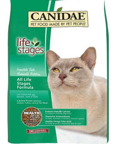 CANIDAE All Life Stages Chicken, Turkey, Lamb & Fish Formula Dry Cat Food