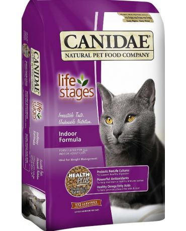 CANIDAE Life Stages Indoor Adult Formula Dry Cat Food