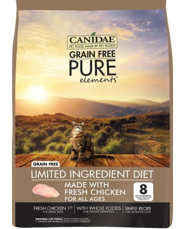 CANIDAE Grain-Free PURE Elements Real Chicken Recipe Dry Cat Food