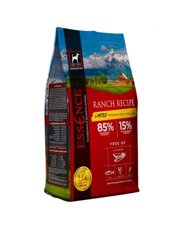 Essence Limited Ingredient LIR Ranch Recipe Dry Dog Food