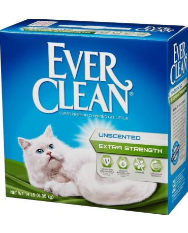 Ever Clean Super Premium Unscented Extra Strength Cat Litter
