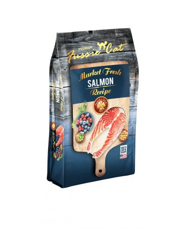 Fussie Cat Grain-Free Salmon Dry Cat Food