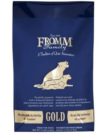 Fromm Gold Reduced Activity & Senior Dry Dog Food