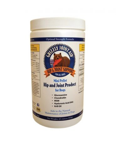 Grizzly Hip & Joint Mini Pellet Supplement for Dogs