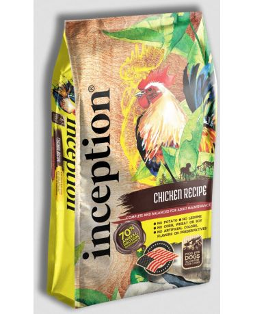 Inception Dry Dog Food Chicken Recipe