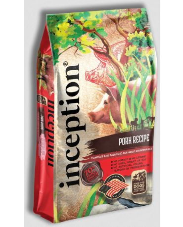 Inception Dry Dog Food Pork Recipe