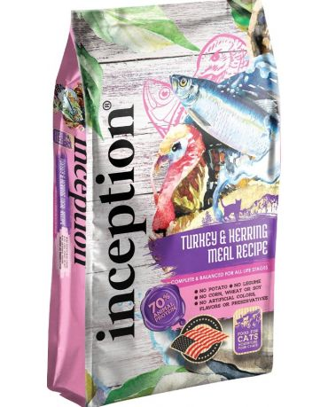 Inception Turkey & Herring Recipe Dry Cat Food