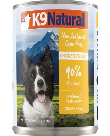 K9 Natural Grain-Free Chicken Feast Canned Dog Food