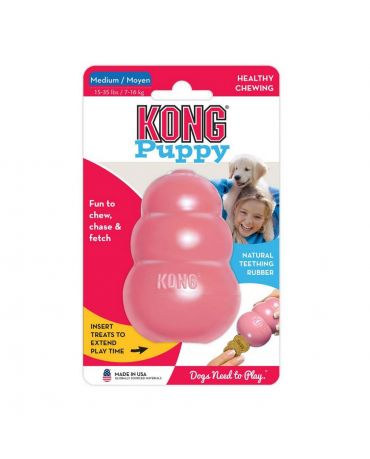 KONG Puppy Teething Rubber Dog Toy Assorted