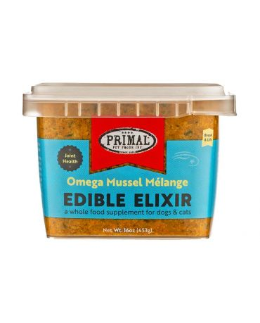 Primal Edible Elixir Omega Mussel Melange Food Supplement for Dogs & Cats